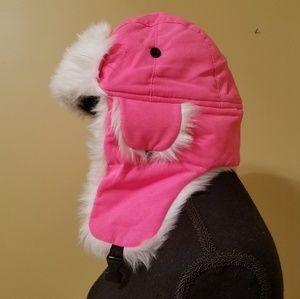 ❄NWOT❄ Neon Pink Trapper Hat